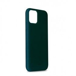 Puro funda silicona Icon Apple iPhone 11 verde oscuro