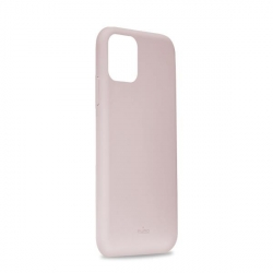 Puro funda silicona Icon Apple iPhone 11 rosa