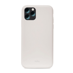 Puro funda silicona Icon Apple iPhone 11 Pro Max gris