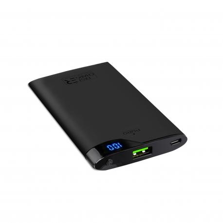 Puro power bank 4000 mAh USB 2A fast charge negra