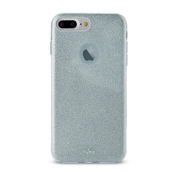 Puro funda shine Apple iPhone 6 Plus/6s Plus/7 Plus/8 Plus azul