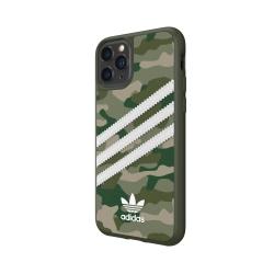 Adidas carcasa 3 rayas Sambarose Apple iPhone 11 Pro camuflaje verde