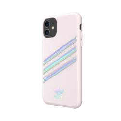 Adidas carcasa 3 rayas Sambarose Apple iPhone 11 rosa/holograma