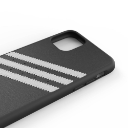 Adidas carcasa 3 rayas Samba Apple iPhone 11 Pro Max negra/blanca