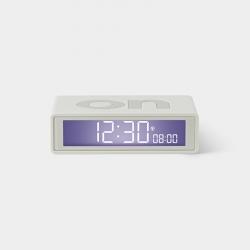 Lexon Reloj Despertador Flip+ Blanco