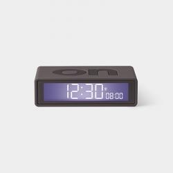 Lexon Reloj Despertador Flip+ Gris Oscuro