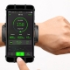 "muvit Active soporte de muñeca para smartphone hasta 6"" negro"