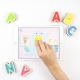 Marbotic Smart Letters juego interactivo de madera para aprender a leer