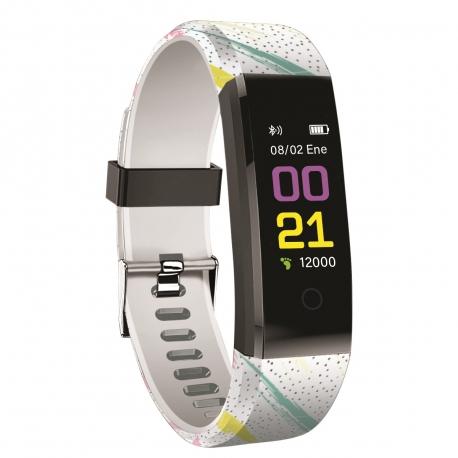 Pulsera de Actividad y Salud HEALTH POP Spots multicolor muvit IO