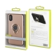 muvit carcasa ring magnetica Apple iPhone Xs/X rosa oro