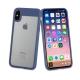 muvit funda Cristal Soft Bump Apple iPhone Xs/X azul