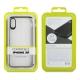 muvit funda Cristal Bump Apple iPhone XR negra