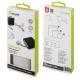 muvit organizador de cables 3 medidas (S/L/XL) negro/blanco