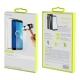 muvit pack Samsung Galaxy A6 2018 funda Cristal Soft transparente + protector pantalla vidrio templado plano marco negro