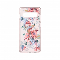 Tech21 carcasa Pure Print Liberty Delphine Samsung Galaxy S10 Plus rosa