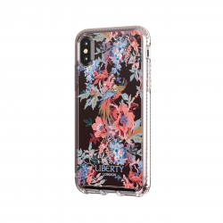 Tech21 carcasa Pure Print Liberty Delphine Apple iPhone Xs Max rosa