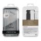 muvit Tiger funda Soft Apple iPhone XS Max shockproof 2m transparente + borde negro