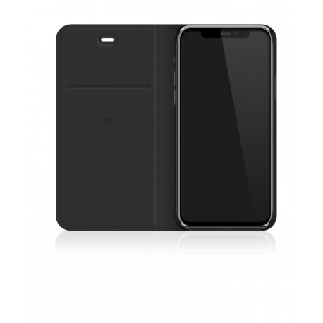 Black Rock funda Apple iPhone 11 flex carbon booklet negra