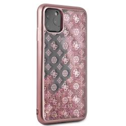 Guess carcasa Apple iPhone 11 Pro Max PC+TPU glitter rosa dorado