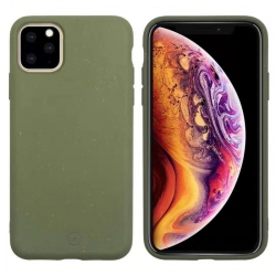 muvit for change carcasa Apple iPhone 11 Pro Max bambootek moss
