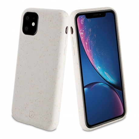 muvit for change carcasa Apple iPhone 11 bambootek coton