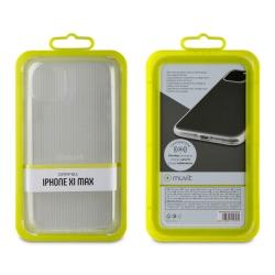muvit funda Cristal Soft Apple iPhone 11 Pro Max transparente