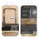 muvit Tiger carcasa Hard Apple iPhone 8/7 shockproof 3m transparente + borde negro