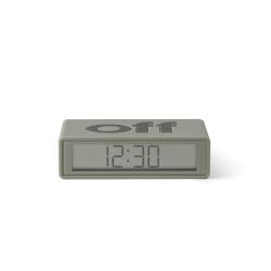 Lexon Flip Travel Reloj Despertador KAHKI