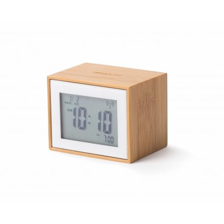 Lexon Reloj Despertador Bamboo
