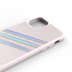 Adidas carcasa 3 rayas Sambarose Apple iPhone 11 Pro Max rosa/holograma
