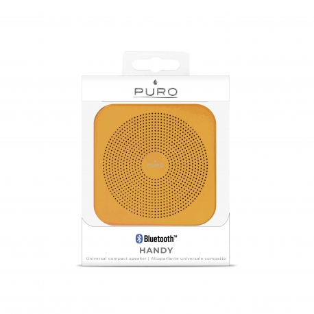 Puro altavoz Bluetooth V4.0 handy naranja