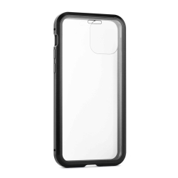 muvit carcasa magnetica Apple iPhone 11 Pro Max glass skin 360º bordes negro