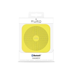 Puro altavoz Bluetooth V4.0 handy amarillo