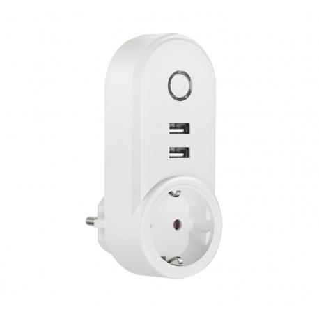 muvit iO enchufe inteligente Wifi con 2 USB