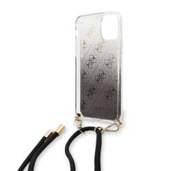 Guess carcasa con colgante Apple iPhone 11 Pro negra
