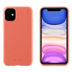 muvit for change funda Apple iPhone 11 recycletek living coral