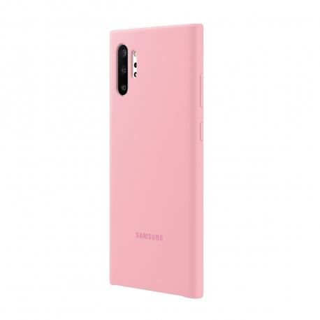 Samsung carcasa Samsung Galaxy Note 10 Plus silicone cover rosa