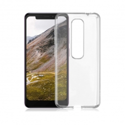 Vodafone carcasa Vodafone Smart N10 transparente