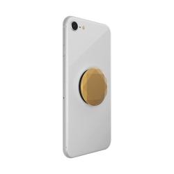 PopSockets soporte adhesivo Metalic Diamond Medallion Gold