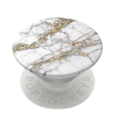 PopSockets soporte adhesivo Gold Sparkle Marble