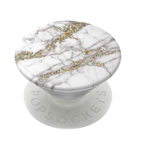 PopSockets soporte adhesivo Gold Sparkle Marble