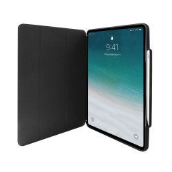 "Puro funda Zeta Apple iPad Pro 12,9"" 2018 función ON/OFF puntero negra"