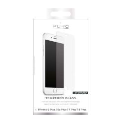 puro protector pantalla Apple iPhone 6 Plus/6s Plus/7 Plus/8Plus vidrio templado