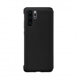 Huawei funda Huawei P30 Pro flip wallet negra