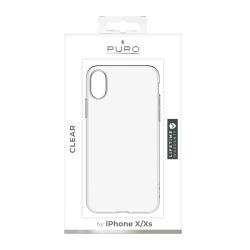 Puro carcasa Apple iPhone Xs/X transparente
