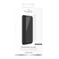 puro protector pantalla Apple iPhone XS/X vidrio templado