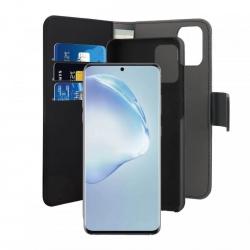 Puro funda piel Eco Samsung Galaxy S20 Plus + carcasa extraible magnética negra
