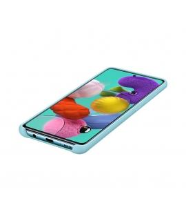 Samsung funda silicona Samsung Galaxy A51 azul