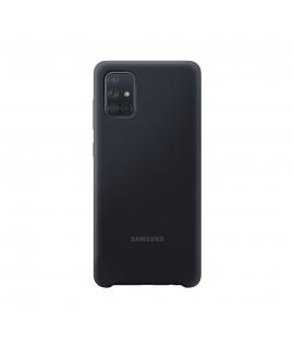 Samsung funda silicona Samsung Galaxy A71 negra