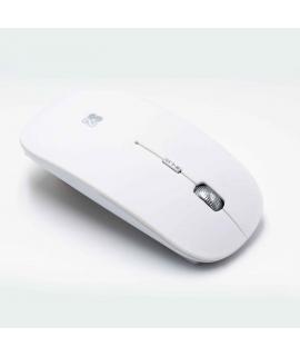 Subblim Flat ratón Bluetooth blanco